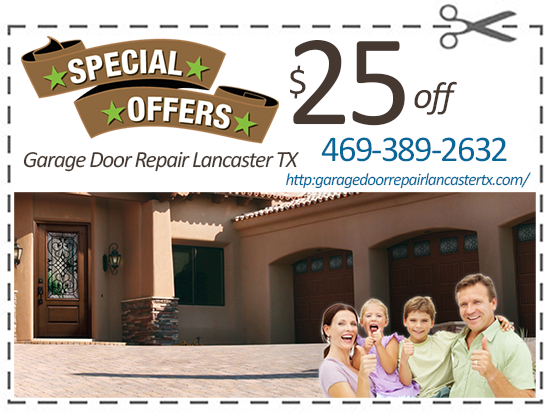 Garage Door Repair Lancaster TX Coupon